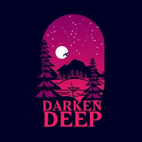 Underwater logo with the title 'Darken Deep'