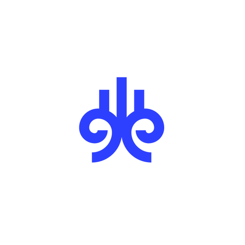 Breeze logo with the title 'Abstract symbol'
