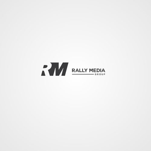 Rally logo with the title 'rally media'