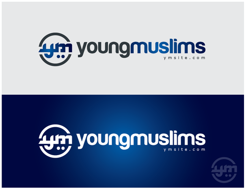 Arabian logo with the title 'Young Muslims (YM) National non-profit religous organization'