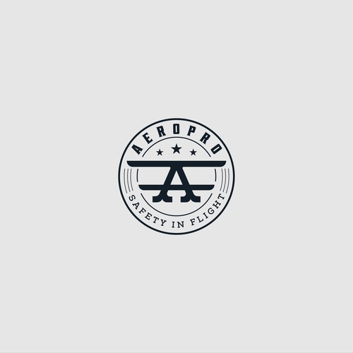 Aero logo with the title 'Classic logo for Aeropro'