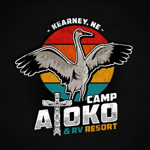 RV design with the title 'Camp Atoko '