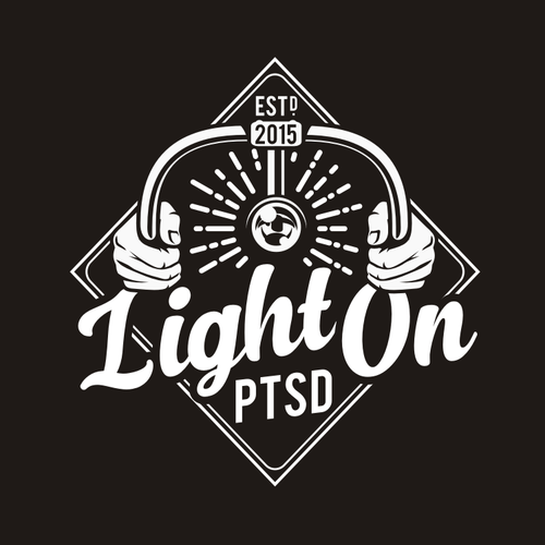 Bike logo with the title 'LightOn'