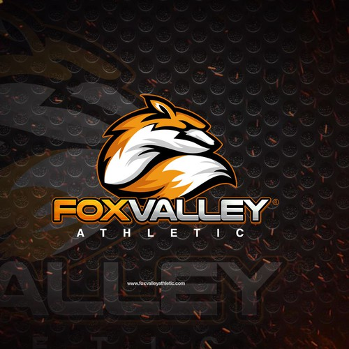 Valley logo with the title 'Logo Fox Valley Athletics'