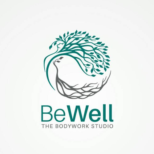 Root design with the title 'Be Well'
