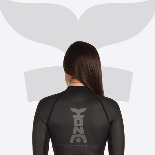 Silhouette design with the title 'KONA'