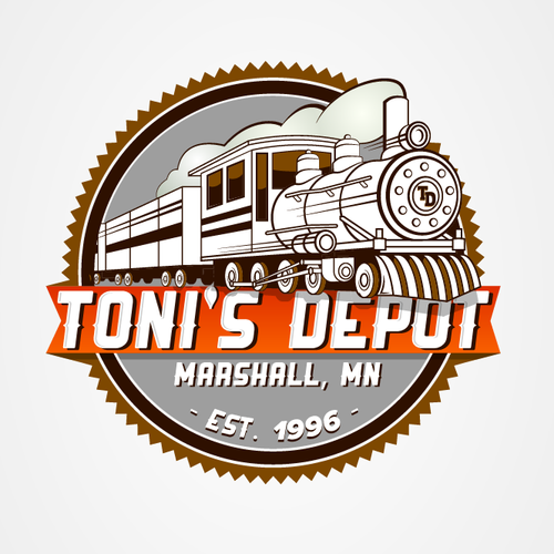 Train Logos The Best Train Logo Images 99designs