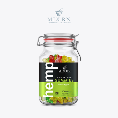 Premium  Hemp Gummies label design