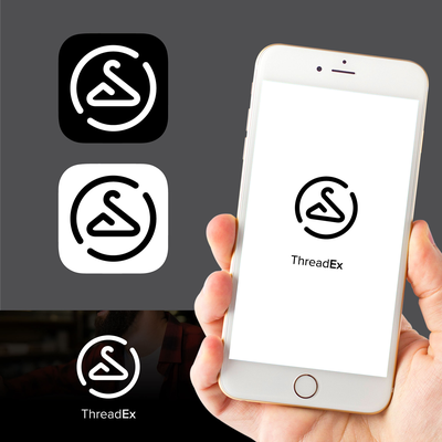 ThreadEx - iOS App icon for clothes swapping