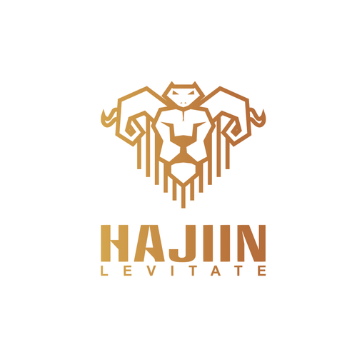 Snake design with the title 'HAJJIN'