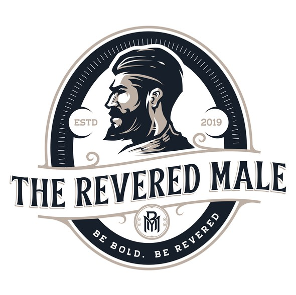 Male design with the title 'The Revered Male'