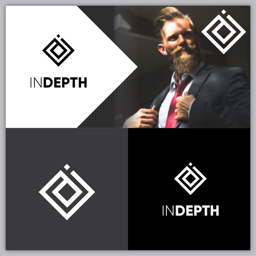 Success brand with the title 'Bold logo proposal for INDEPTH '