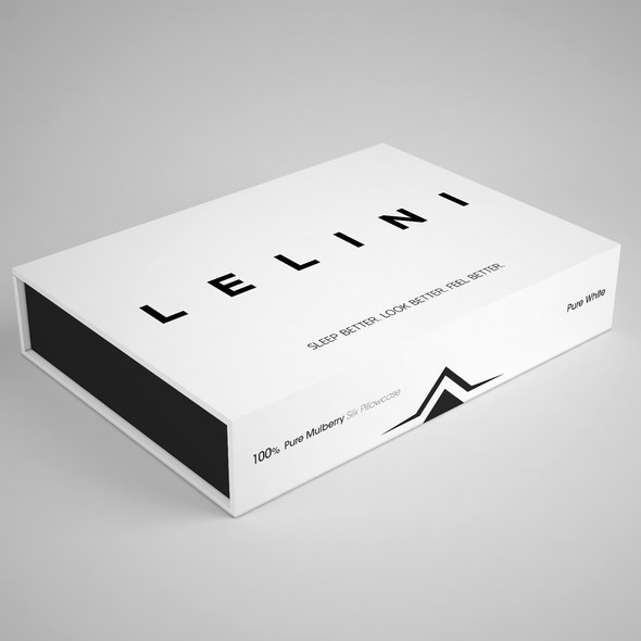 Soft packaging with the title 'Minimalist and clean packagign'