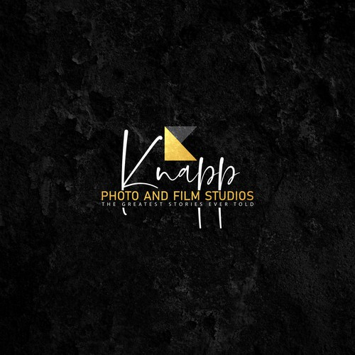 Photography studio logo with the title 'logo concept for Film company'