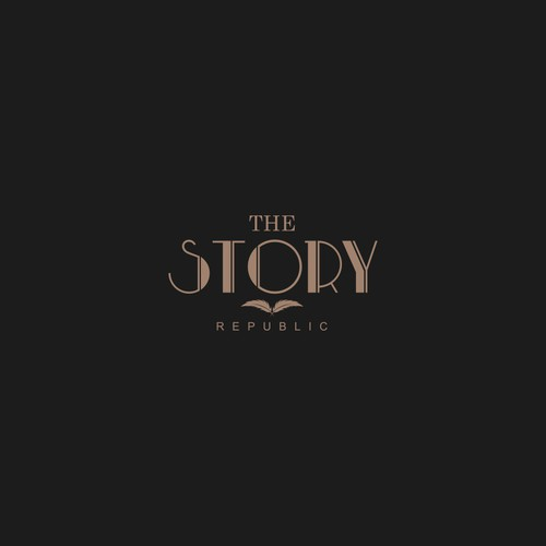 Republic logo with the title 'Logo For Film Production Company : The Story Republic'