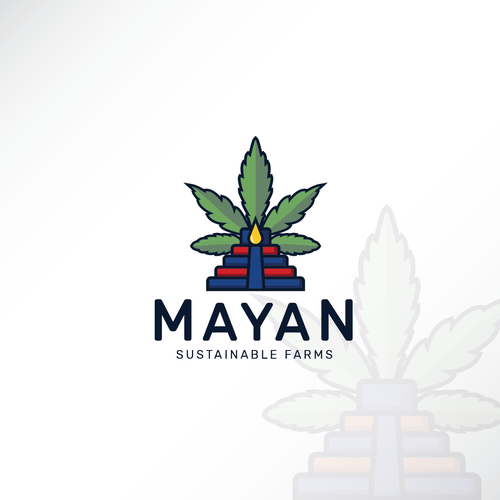 Culture brand with the title 'Great Pyramid for MAYAN'
