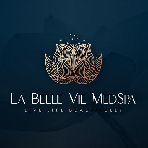 Esthetician logo with the title 'La Belle Vie MedSpa'