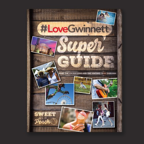 Local design with the title 'Love Gwinnett Super Guide'