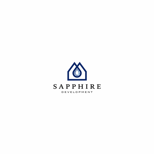 Sapphire logo with the title 'Logo for Sapphire Development'