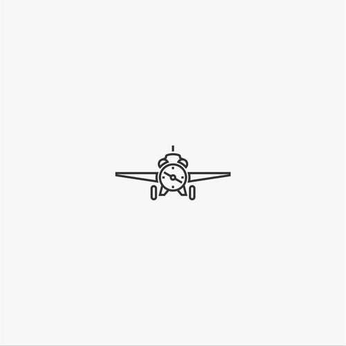 Air logo with the title 'flynow.com - Creative, minimalist  and clear'