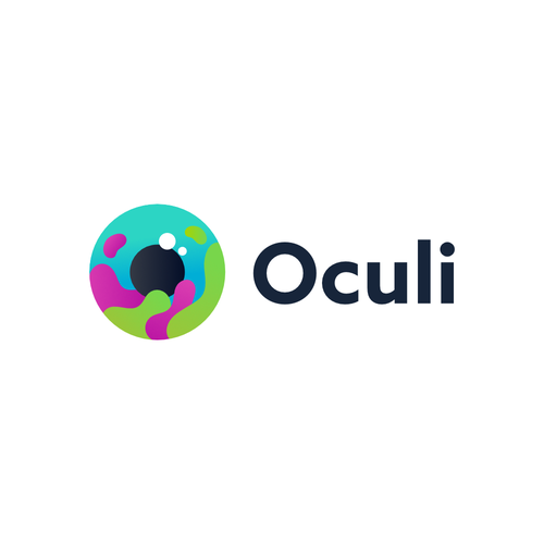 Disease awareness logo with the title 'Oculi'
