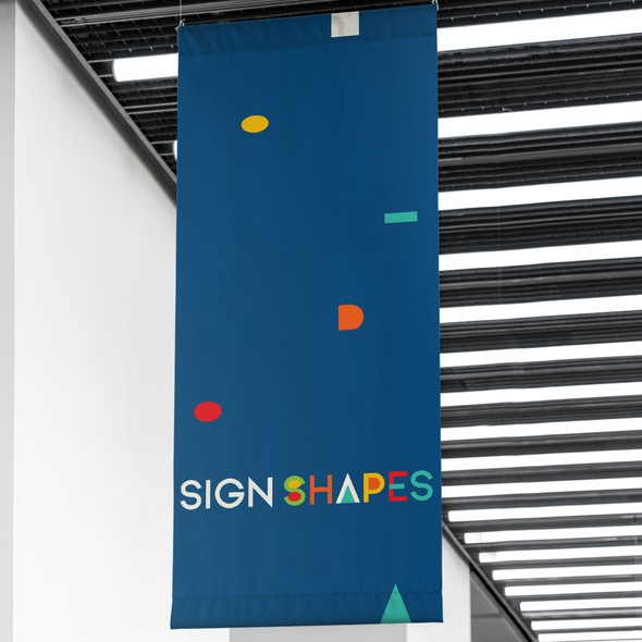 Exhibition logo with the title 'Logotype for Sign and Exhibition System Business'