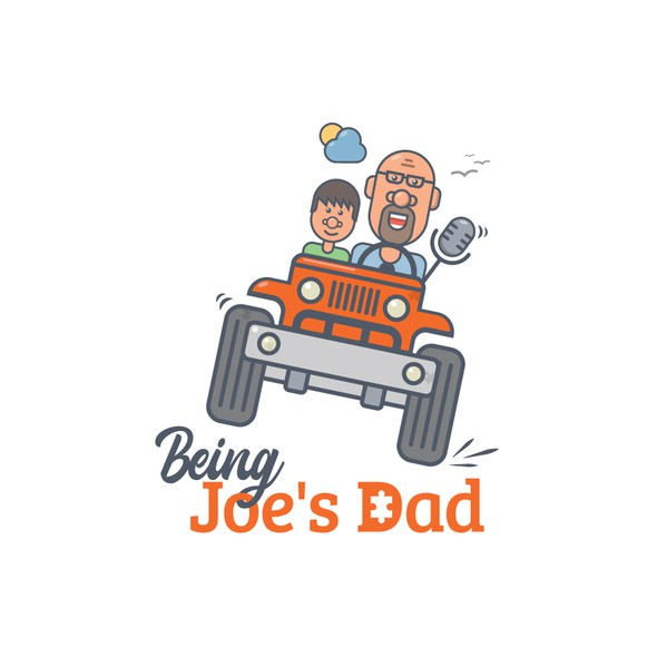 Puzzle piece logo with the title 'Being Joe's Dad'