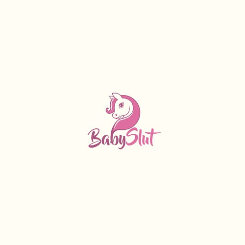 Pony logo with the title 'Baby Slut'