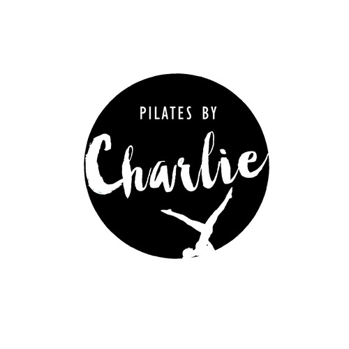 Living logo with the title 'Logo for a Pilates teacher'