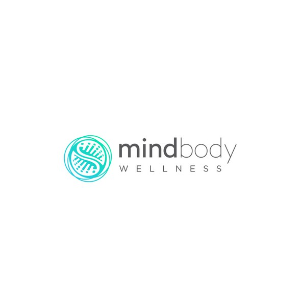 Synergy design with the title 'Abstract logo for Mind Body Wellness'