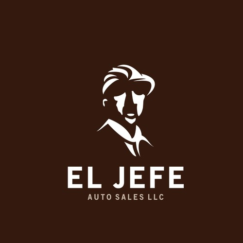 Spanish logo with the title 'EL JEFE AUTO SALES LLC'
