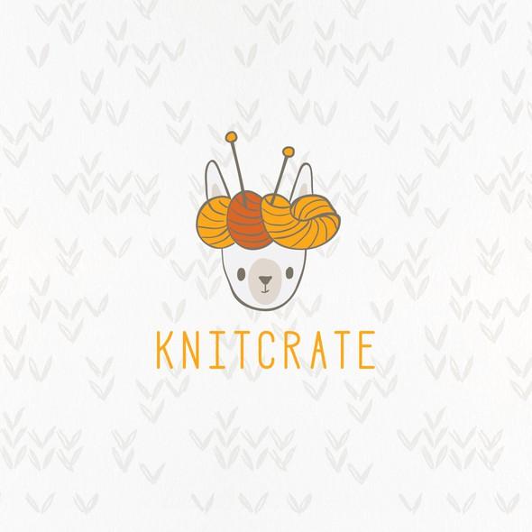 Yarn design with the title 'Yarn alpaca'