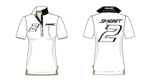 Polo shirt design with the title 'NEED YOU! POLO DESIGN FOR A PRESTIGIOUS SAILING TEAM'