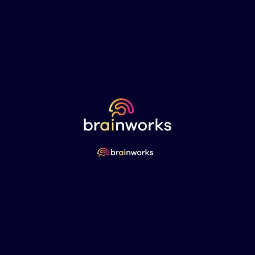 Artificial design with the title 'BrainWorks'
