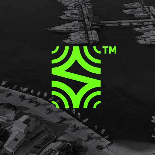 Signal design with the title 'Modern, Geometric Logo'
