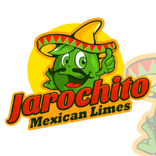 Lime design with the title 'Jarochito Mexican Limes'
