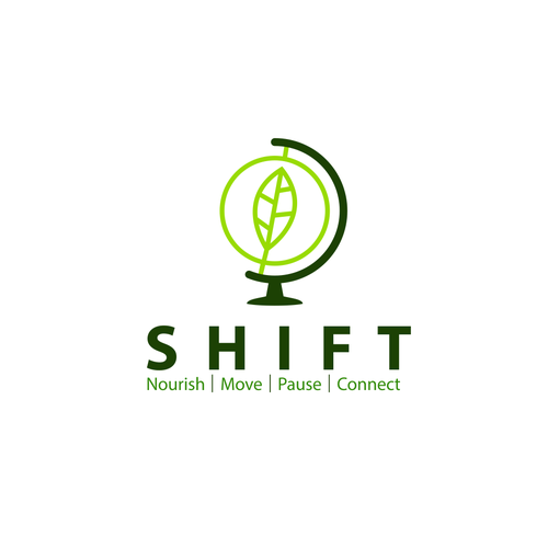 Great brand with the title 'Simple logo concept or SHIFT'