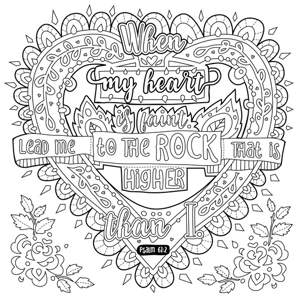 Coloring design with the title 'Modern coloring book illustrations for adults'