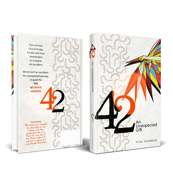 Bird book cover with the title 'Book cover for 42'