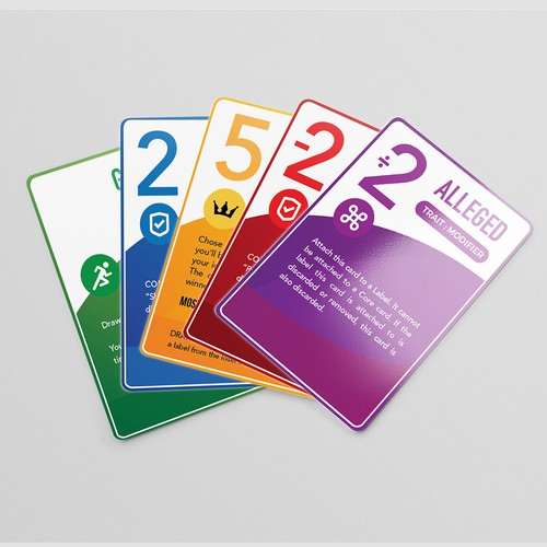Card game design with the title 'CARD GAME DESIGN'