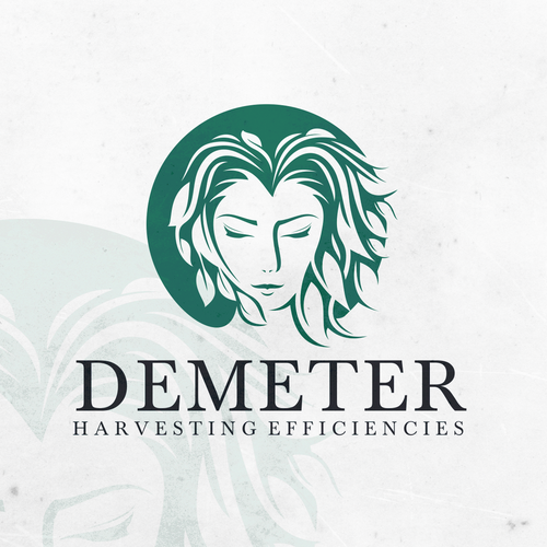 Girl brand with the title 'Demeter Logo'