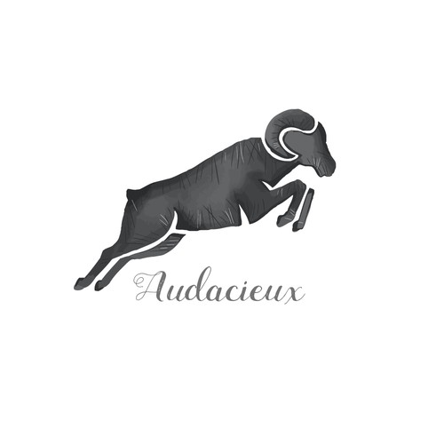 Ram logo with the title 'Audacieux'