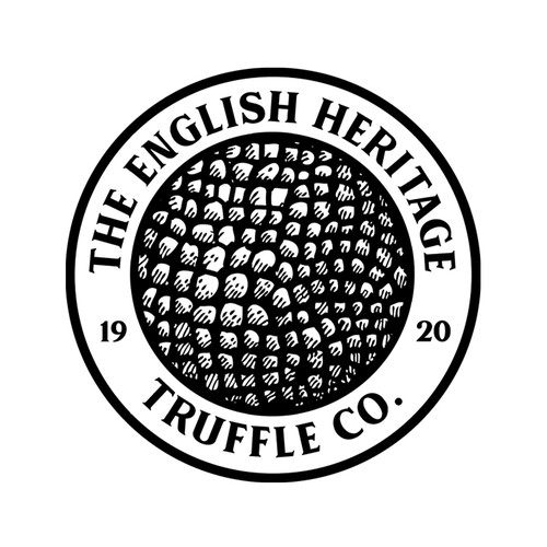 Truffle design with the title 'Truffle company logo'