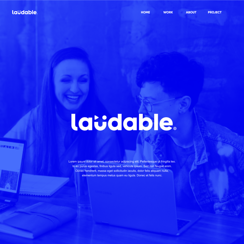 Fabulous logo with the title 'Ludable'