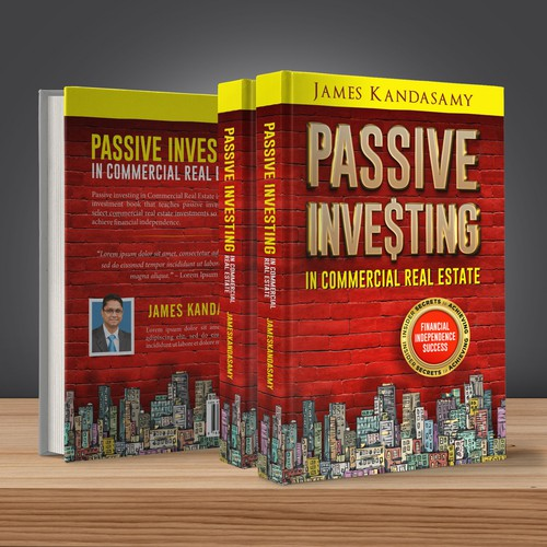 Real estate book cover with the title 'Passive Investing in Real Estate'