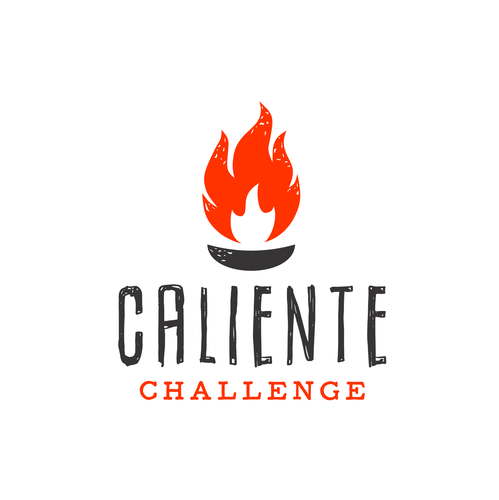 "Spicy logo with the title 'Concept for ""Caliente Challenge""'"