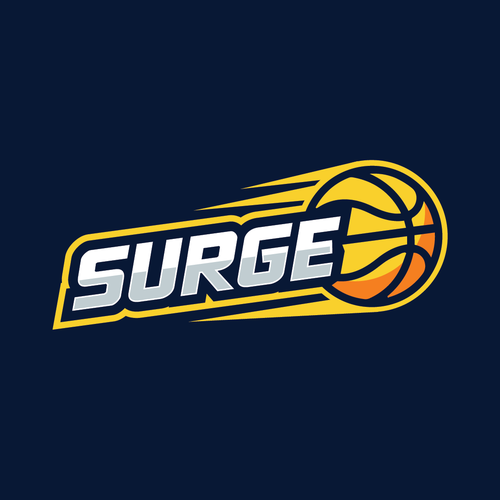 Player logo with the title 'Logo for youth basketball team.'