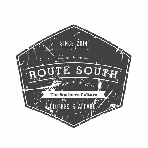 South logo with the title 'Southern T-shirt line'