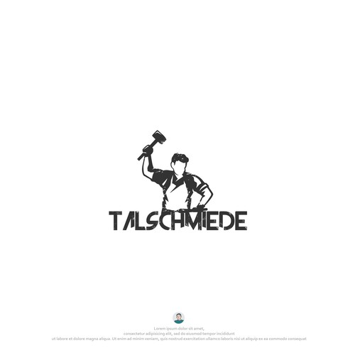 Forge logo with the title 'Talschmiede'