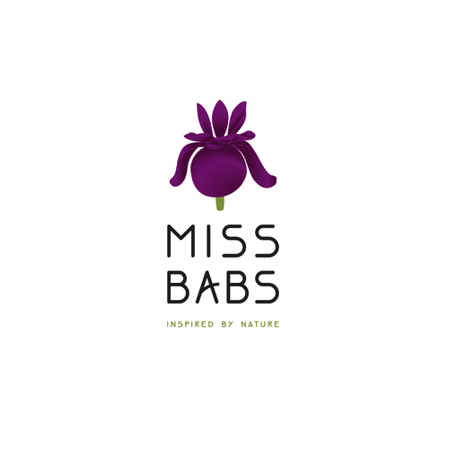 Iris logo with the title 'Logo for Miss Babs'